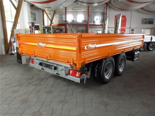 Atemberaubend Fliegl TSK 115 4,5 x 2,42 m Kipper Anhänger, 14400 EUR – Truck1 ID #MU_66