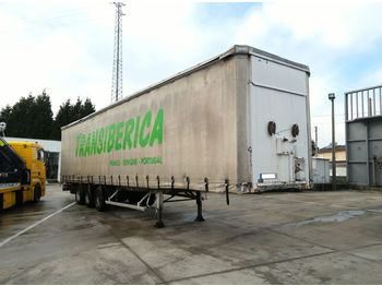 FRUEHAUF full steel frame tri axle 34 ton with lifting roof - Plane Auflieger