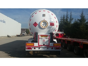 ALTINORDU PRODUCER SINCE 1973, LPG/GAS TRANSPORT TANK 2 AXLE , 57 m3 - Tank Auflieger