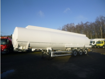 Magyar Fuel tank trailer alu 43.2 m3 / 8 comp + counter - Tank Auflieger