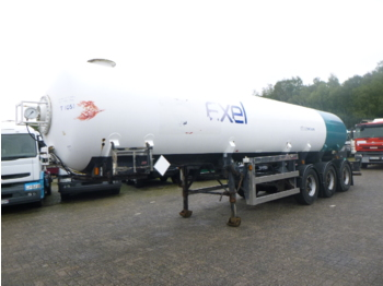Proctor Low-pressure gas / chemical tank 27.2 m3 / 1 comp - Tank Auflieger