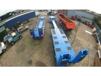 GURLESENYIL 4 axles low bed semi trailers - Tieflader Auflieger