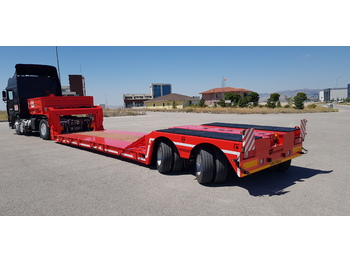 low loader semi trailers - Tieflader Auflieger