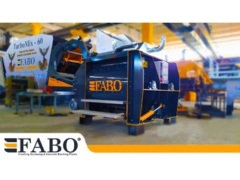FABO 1 m3 TWIN SHAFT MIXER IS READY - Betonmischanlage