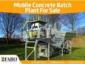 FABO 60m3/h NEW GENERATION MOBILE CONCRETE PLANT - Betonmischanlage