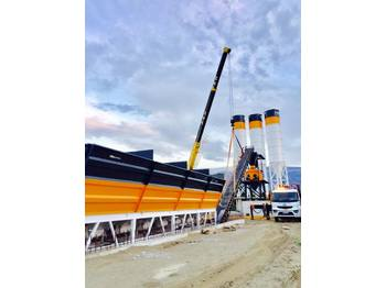 FABO POWERMIX-100 STATIONARY CONCRETE BATCHING PLANT - Betonmischanlage