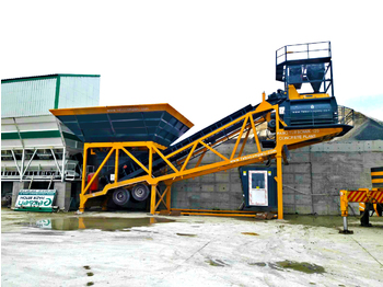 FABO TURBOMİX 100 CE QUALITY NEW GENERATION MOBILE CONCRETE MIXING PLANT - Betonmischanlage