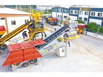 FABO TURBOMİX 110 CE QUALITY NEW GENERATION MOBILE CONCRETE MIXING PLANT - Betonmischanlage