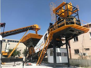 FABO TURBOMIX-120 MOBILE CONCRETE BATCHING PLANT | READY IN STOCK - Betonmischanlage