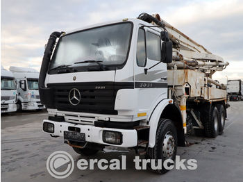 MERCEDES-BENZ 1999 WAITZINGER 32/4 MT./AXOR 3031 6X4 NEW ENGINE - Betonpumpe