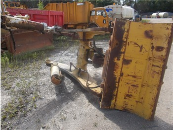 Frame Komatsu WA500-1 with lift cylinder and quick coupling - Rahmen/ Chassis