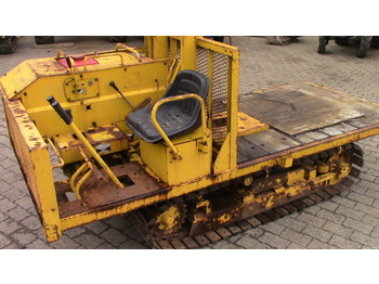 Yanmar Dozer with original Yanmar Winch - Forsttraktor