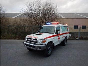 Toyota Land Cruiser Ambulance, VDJ 78, 4.5L, TURBO DIESEL - Krankenwagen