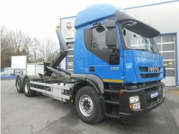 Iveco Stralis AT260S45Y/PS Klima AHK Luftfeder  - Abrollkipper