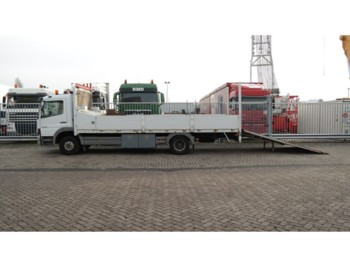 Mercedes-Benz ATEGO 1218 TRUCK FOR MANCHINERIE AND CAR TRANSPORT 142.000KM - Autotransporter LKW