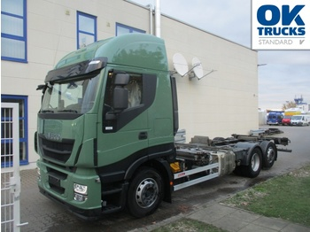 Iveco Stralis AS260S46Y/FSCM - Containerwagen/ Wechselfahrgestell LKW