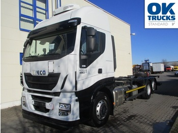 Iveco Stralis AS260S48Y/FPCM - Containerwagen/ Wechselfahrgestell LKW