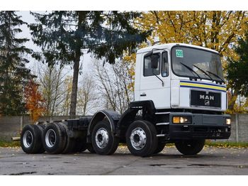 Fahrgestell LKW MAN 35.343 chassis 8x4 model 1997