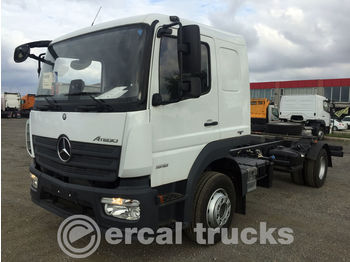 MERCEDES-BENZ NEW UNUSED ATEGO 1518 EURO 6 CHASSIS WITH BED - Fahrgestell LKW
