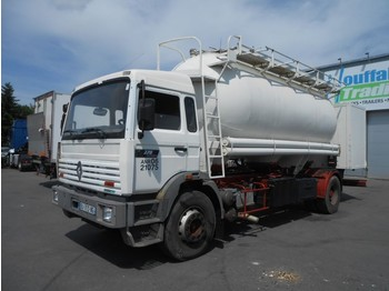 Renault G270 - cement tank/citerne ciment - lames/steel - manual - Fahrgestell LKW