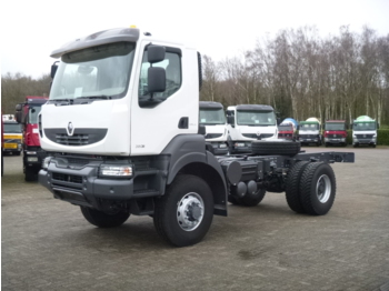 Renault Kerax 380 dxi 4x4 chassis + PTO / NEW/UNUSED - Fahrgestell LKW