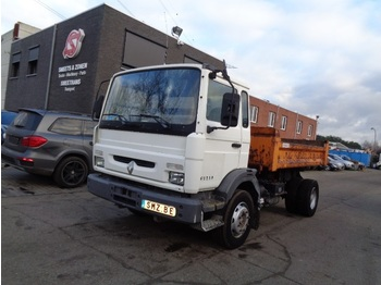 "Fahrgestell LKW Renault M 180 187""km Chassis sans benne"