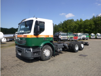 Fahrgestell LKW Renault Premium Lander 370 6x2 chassis + ADR