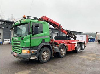 Fahrgestell LKW SCANIA P380 8x2