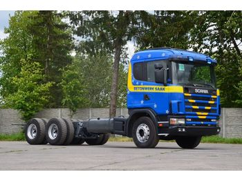 Fahrgestell LKW SCANIA R124G 400