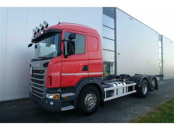 Scania G480 6X2 CHASSIS RETARDER STEERING AXLE EURO 5  - Fahrgestell LKW