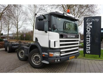 Scania P 114G 340 8x2*6 Fahrgestell  - Fahrgestell LKW