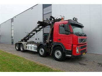 Volvo FM12.420 8X4 MANUAL HUB-REDUCTRION FULL STEEL LO  - Fahrgestell LKW