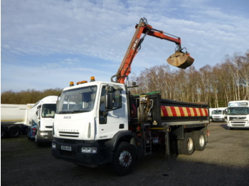 Iveco ML260E28 6X4 RHD Hiab XS 085 DL-1 - Kipper