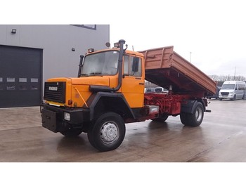 Iveco Magirus 170 - 23 (GRAND PONT / SUSPENSION LAMES / 4X4) - Kipper