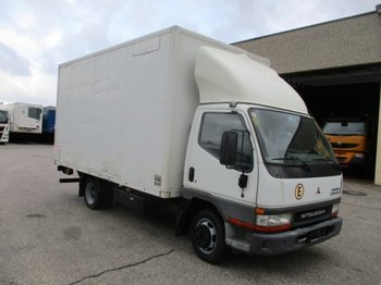 Koffer LKW Mitsubishi Canter 35S-Turbo mit Ladebordwand