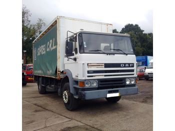 DAF 1900 ATI left hand drive 17.5 ton with tail lift on springs - Plane LKW