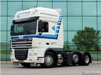 DAF FTG XF105.460 SSC EURO 5 6X2 MANUAL GEARBOX HOLLAND TRUCK - Sattelzugmaschine
