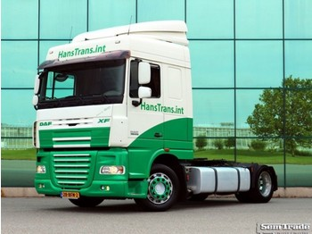 DAF XF 105.410 SPACE CAB EURO 5 LOW DECK - Sattelzugmaschine