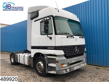 Sattelzugmaschine Mercedes-Benz Actros 1840 EPS 16, 3 pedals, Airco, Analoge tachograaf
