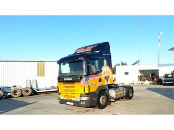 SCANIA R124L 400 left hand drive 3+3 manual - Sattelzugmaschine