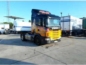 SCANIA R 124 400 left hand drive 3+3 manual Euro 2 - Sattelzugmaschine