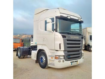 SCANIA R 420 left hand drive manual retarder - Sattelzugmaschine