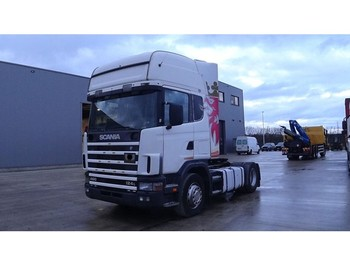 Scania 124 - 400 Topline (MANUAL GEARBOX / BOITE MANUELLE / MANUAL PUMP / EURO 2) - Sattelzugmaschine