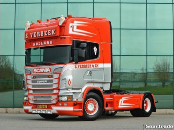 Scania R500 V8 EURO 5 KING RETARDER TOP CONDITION HOLLAND TRUCK - Sattelzugmaschine