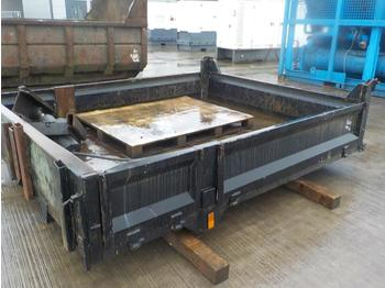 Drop Side Tipper Body - Kippaufbau