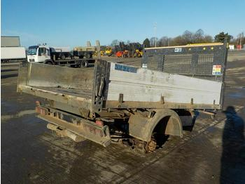 Ford Transit Dropside Tipper Body, Rear Axle - Kippaufbau